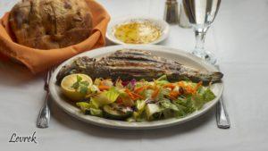 FISH DISH_BRDIGE TURKISH & MEDITERRANEAN GRILL